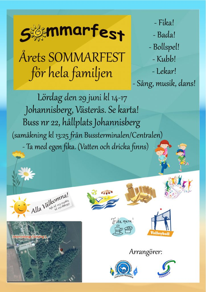 Årets SOMMARFEST i Västerås @ Johannisberg